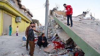 Powerful earthquake strikes Iraq-Iran border