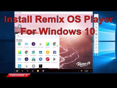 Install Remix OS Player and Run Android Games and Apps on Windows 10 PC