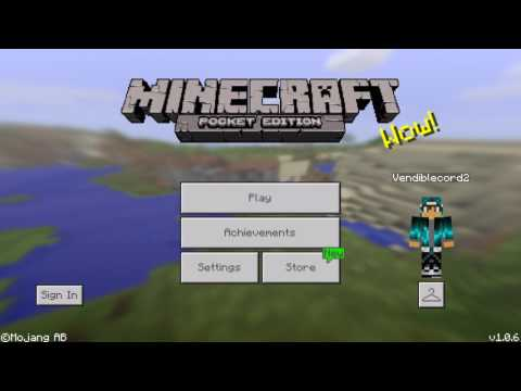 How to get skins for minecraft pe (wood, stone skins)