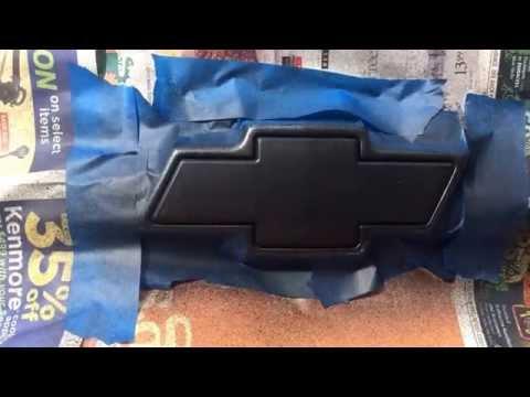 Plasti Dip Chevy Blazer Emblem