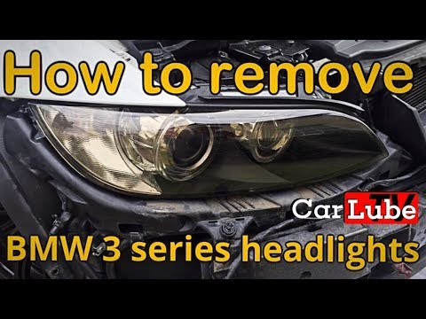 The 'EASIEST' WAY ON BMW E92/E93 to remove Headlight units & re-install | How to