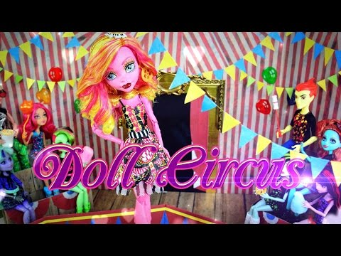 DIY - How to Make:  Doll Circus - Handmade - Doll - Crafts