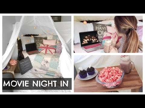 The Perfect Movie Night In | ThoseRosieDays (Ad)