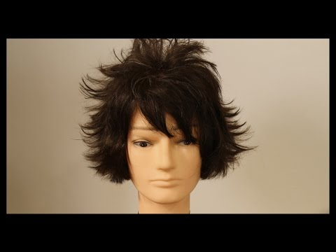 Haircut Tutorial - L Death Note Anime Haircut Tutorial - TheSalonGuy