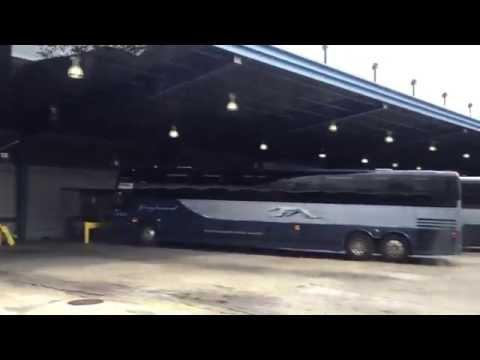 Greyhound bus station in Chicago