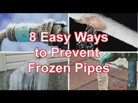 Preventing Frozen Pipes - Eight Tips to Keep your Pipes from Bursting in Winter | Roto-Rooter