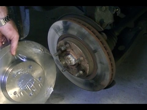 2002 Acura MDX Brake Pads and Rotor Replacement