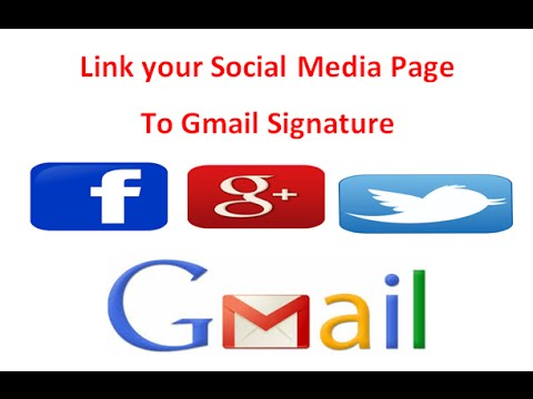 How to link facebook and Twitter Profile to Gmail Account