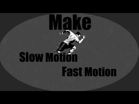 How to make a Slow motion/Fast motion effects Sony vegas pro