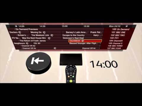 How to use Catch up TV on the Virgin Media TiVo service