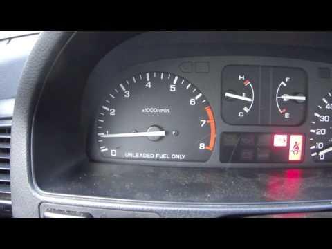 Bad Engine Ground Car RPM Hesitation Acceleration Misfire Bad Start 1990 Honda CRX Si D16A6 Engine