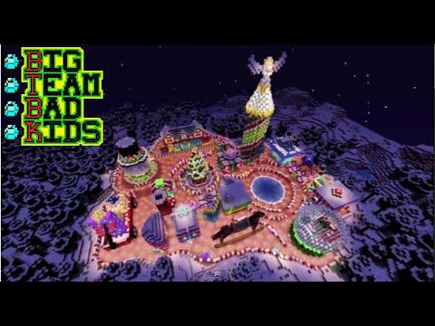Minecraft Xbox 360: Winter Wonderland Christmas Town