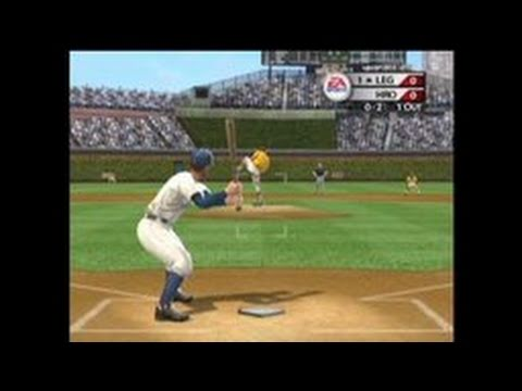 MVP Baseball 2005 GameCube Gameplay - Hitter's Eye