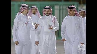 إستقبال رئيس الأهلي لرئيس الأتحاد السعودي ونائبه _ المركز الإعلامي HD