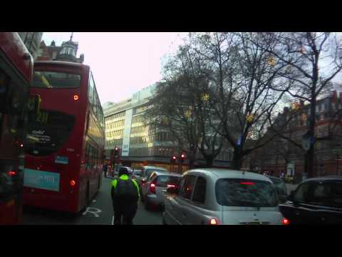 London Cycle Courier - winter slowride BUFF