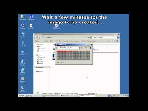 How to create and mount a CD/DVD image (ISO) windows easy step by step HD