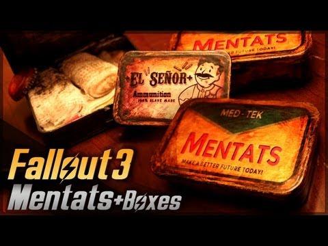 Mentats + Plus Boxes // Fallout 3 // Props Travel Kit Tutorial