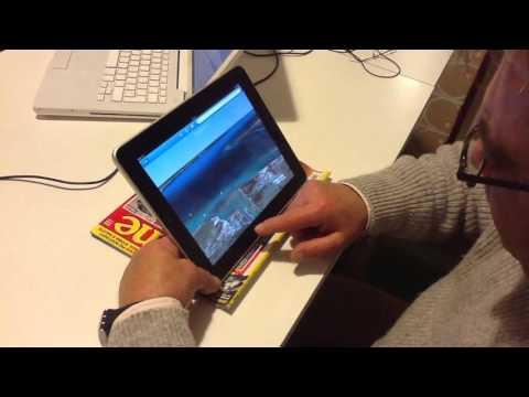 Giocando con Google Earth su iPad2