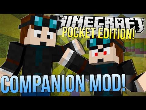 Minecraft Pocket Edition | COMPANION MOD | Mod Showcase 0.9.4