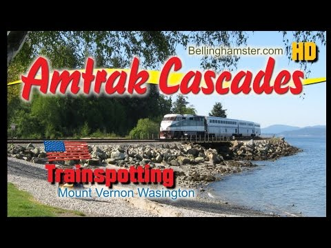 Amtrak Cascades Train Spotter - Seattle To Vancouver