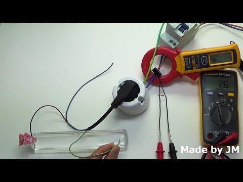 Makeshift Leakage Current Measurement Tool