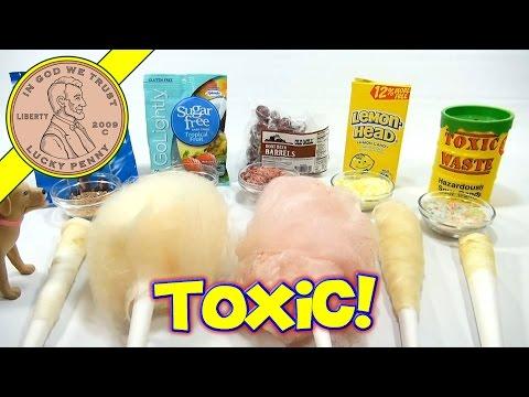Cotton Candy Flavor Series: Toxic Waste, Lemon Heads, Sugar Free & Root Beer Barrels