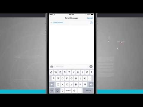 iPhone 6 Tips - How to Send Multiple Photos in Messages