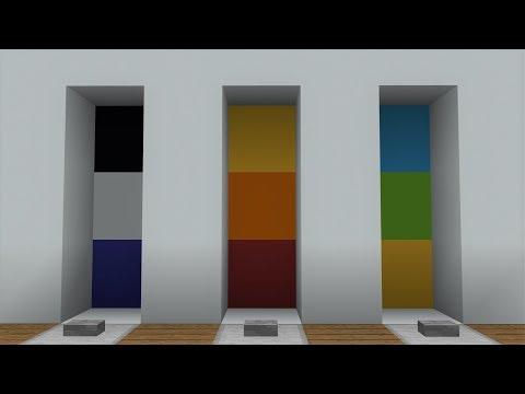 Minecraft PE Super Smart Colour Combination Lock (PE/Xbox/Windows10/Switch)