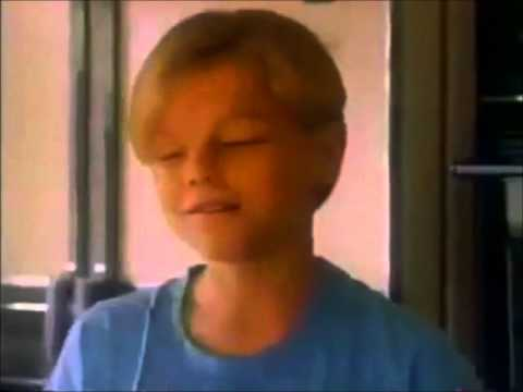 Leonardo DiCaprio in an 80's Fashion Commercial