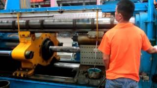 6'' Aluminium Extrusion Press In Running Operation