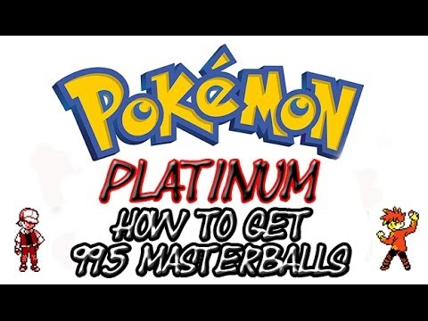 Pokemon Platinum - Master Ball Cheat | Action Replay Codes