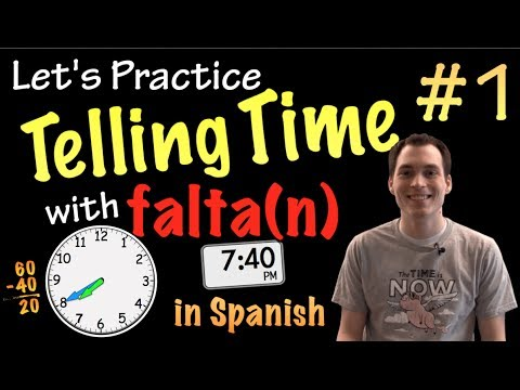 Telling time with