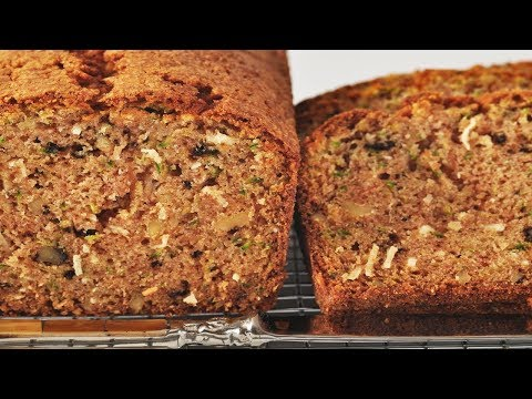 Zucchini Bread Recipe Demonstration - Joyofbaking.com