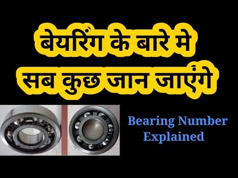 Bearing Number Explained ( Designation)