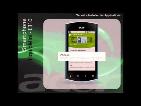 Android Market - Installer les Applications (Francais)