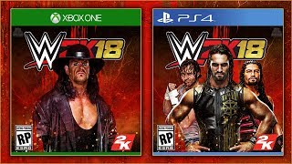 WWE 2K18 - 20 🔥 AWESOME CUSTOM COVERS 🔥 | PS4/XB1