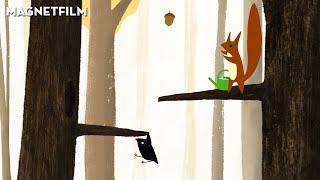 The little bird and the squirrel | Animated short film by Lena von Döhren | Autumn