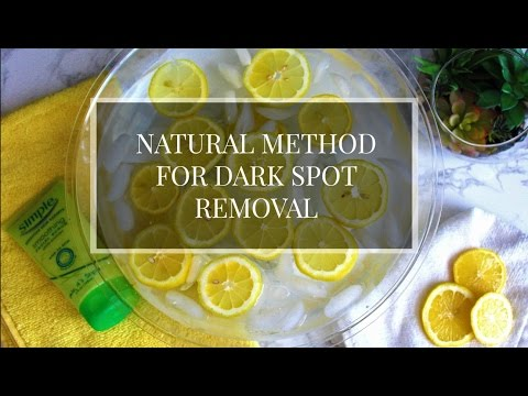 How to Remove Dark Spots Naturally with Lemons