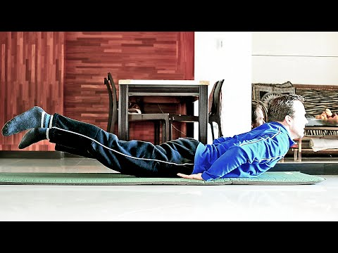 Gentle lower back exercises at home, get rid of lumbar pain and soreness
