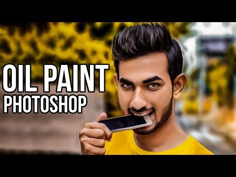 How to Install Oil Paint Plugin in Photoshop cc and cs6 In A Minute