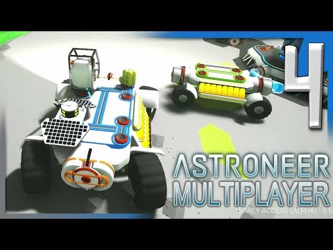 ASTRONEER: ROVER BUILDING AND TRADING STATION FUN!   Astroneer Multiplayer Gameplay E4