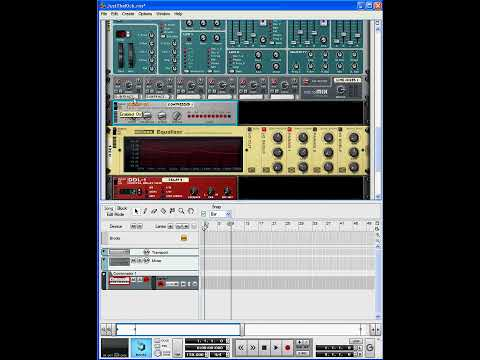 Creating a trance kick drum sound from scratch in Reason