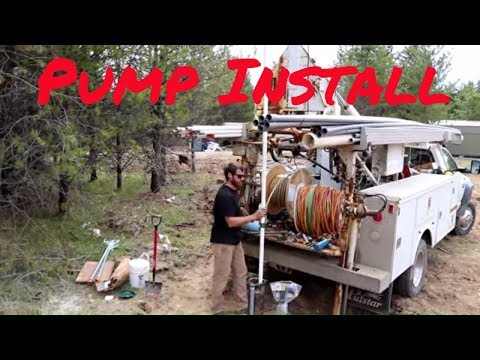 (Pt.4) How to install a Submersible Water Pump in a Well