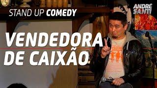 A MINA DA FUNERÁRIA | André Santi | Stand Up Comedy