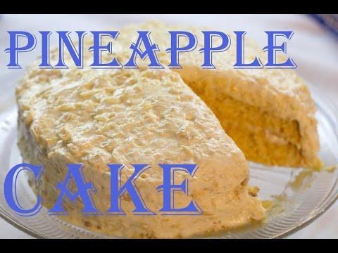 Orange Pineapple Cake Recipe!!
