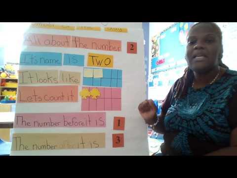 Teaching number concept to preschoolers