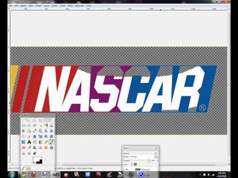 How to Edit a Logo in GIMP