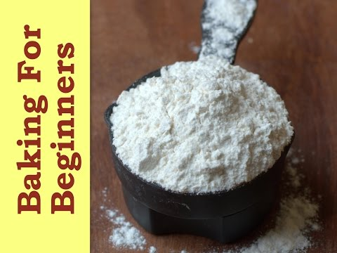 Flour types in baking, common substitutes