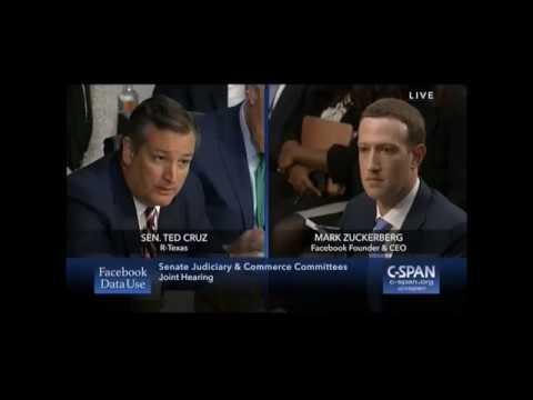 Ted Cruz RIPS Mark Zuckerberg Over Facebook's Political Bias, Censoring Diamond and Silk