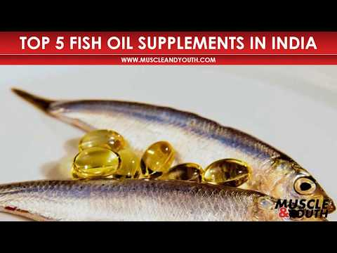 Top 5 Best Fish Oil Supplements in India for 2018